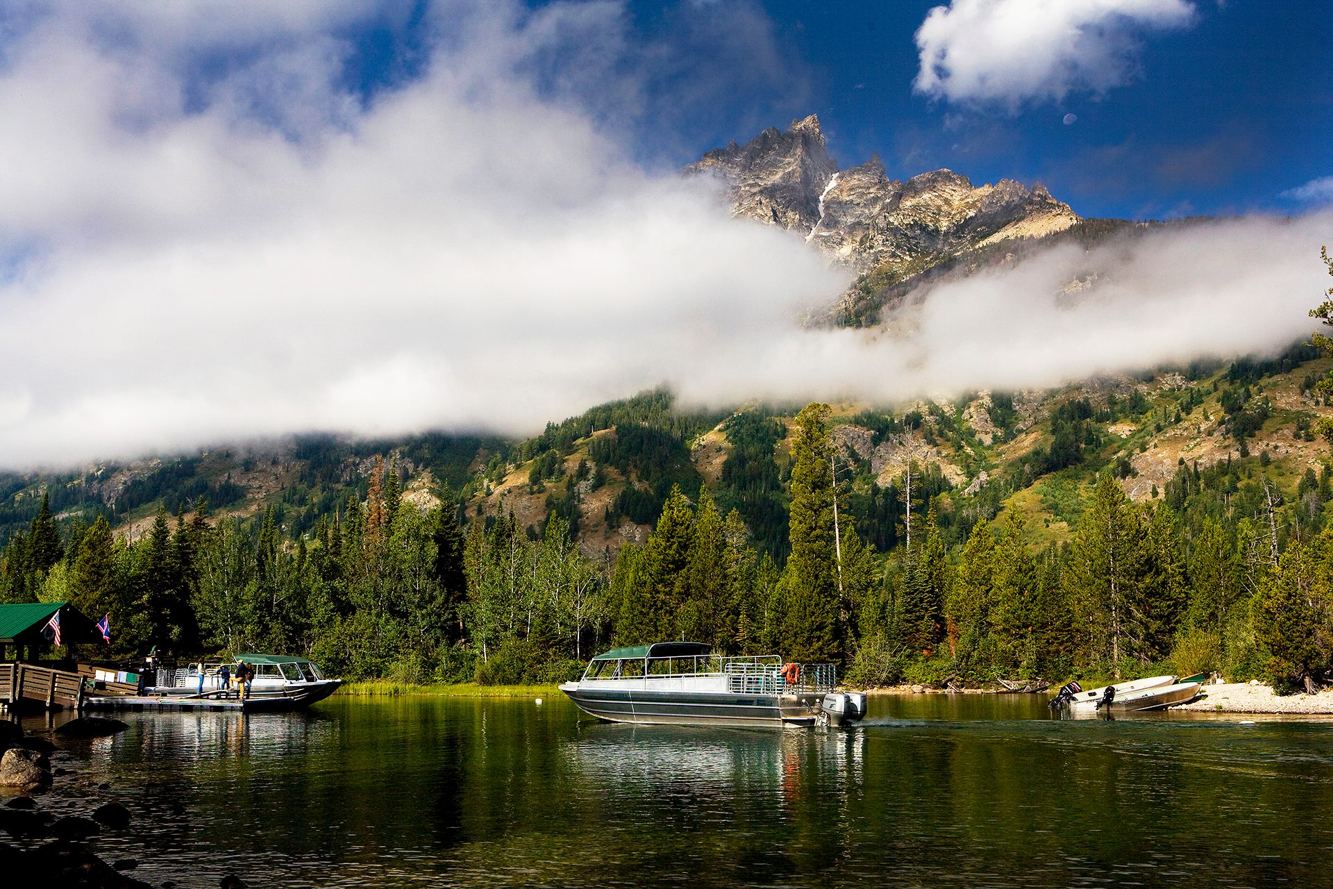 Jenny Lake Boating Tours