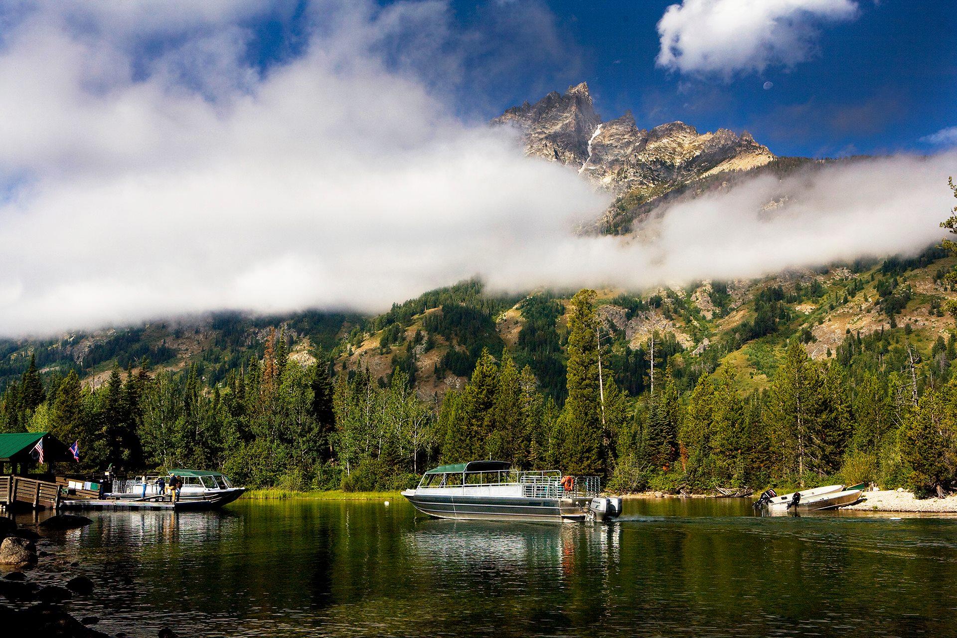 Jenny Lake Boating Tours
