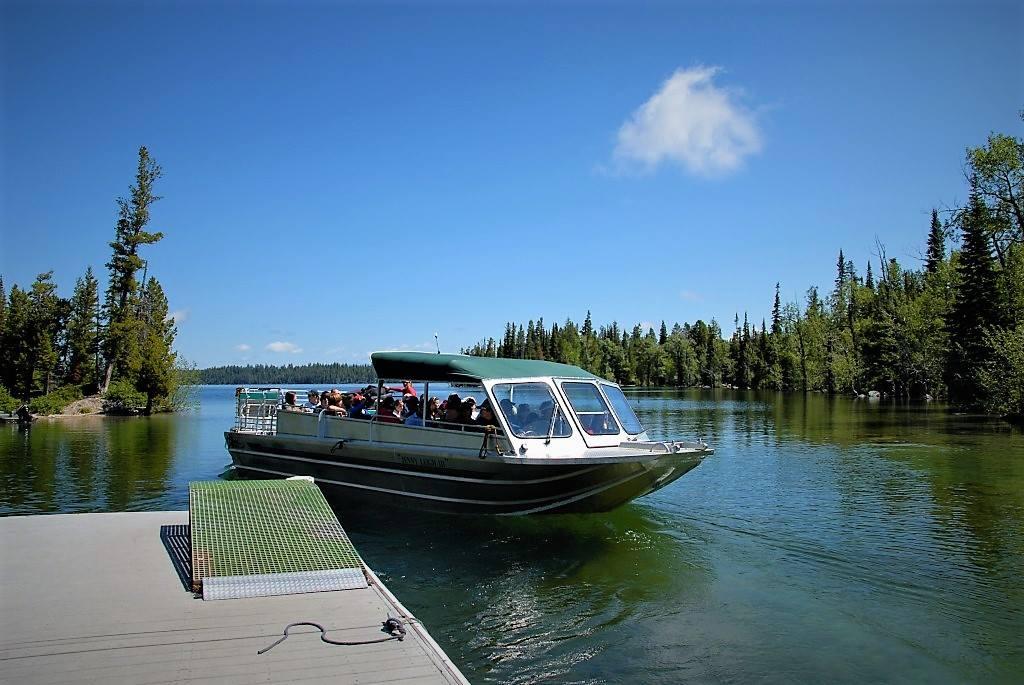 Jenny Lake Shuttle Boats